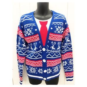 Ugly Christmas Sweater Men's Small